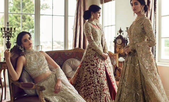 Best Bridal Dresses For Pakistani Girls