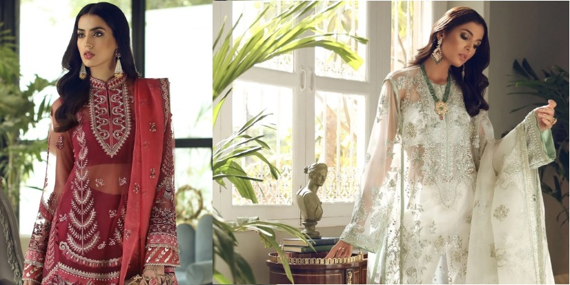 Tresor Luxury Unstitched Collection By Elan