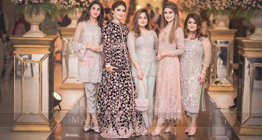 Pakistani Fancy Dresses for wedding