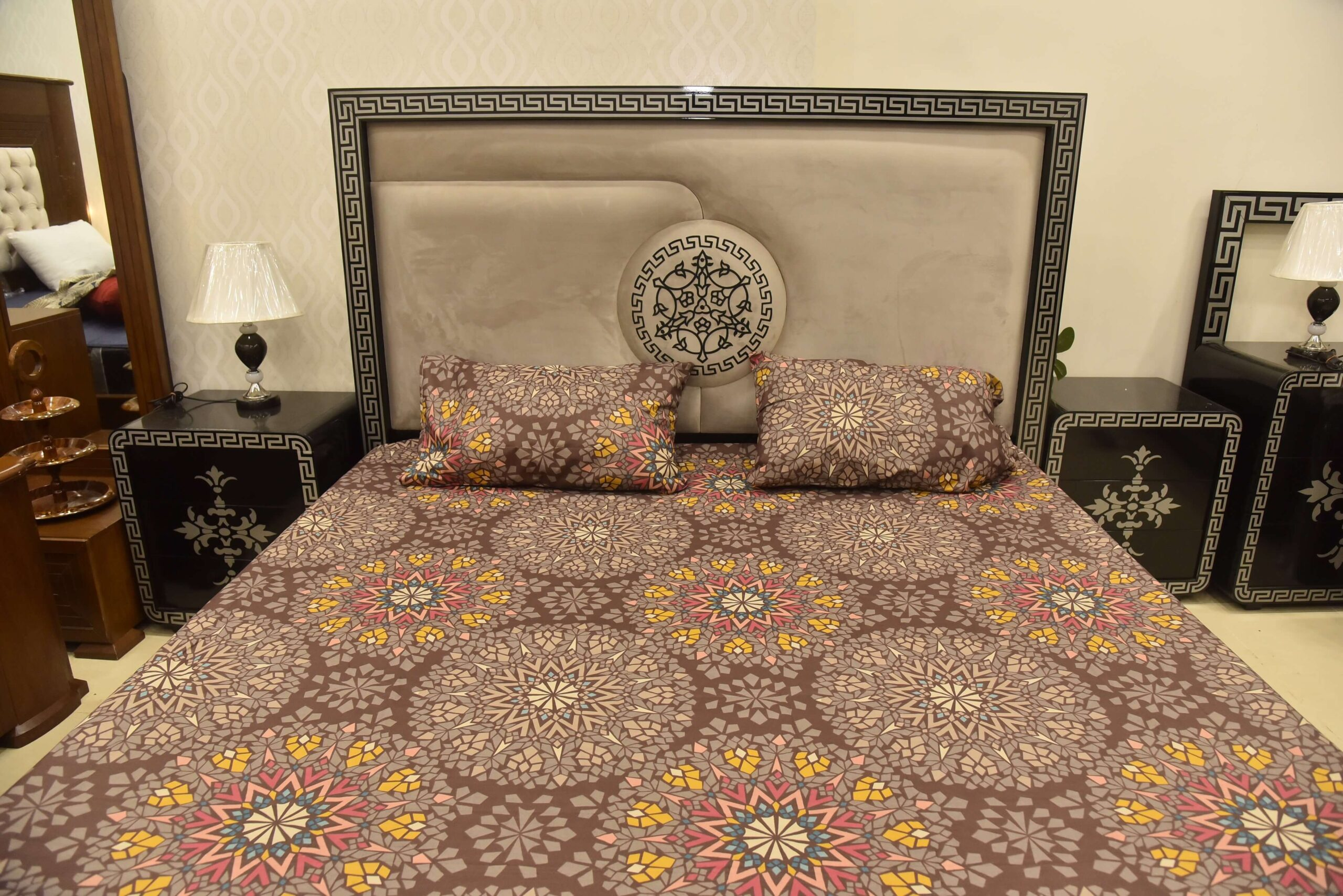 Cotton Bed Sheet All Over Print