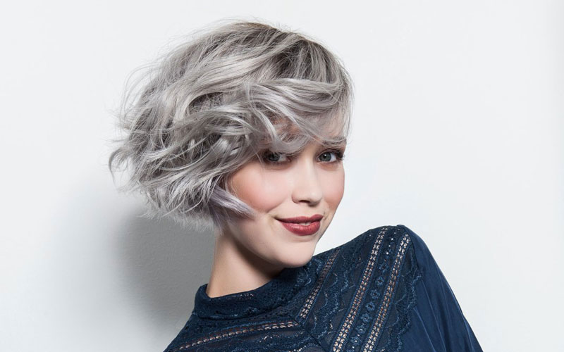 Trendy Short Wavy Hair