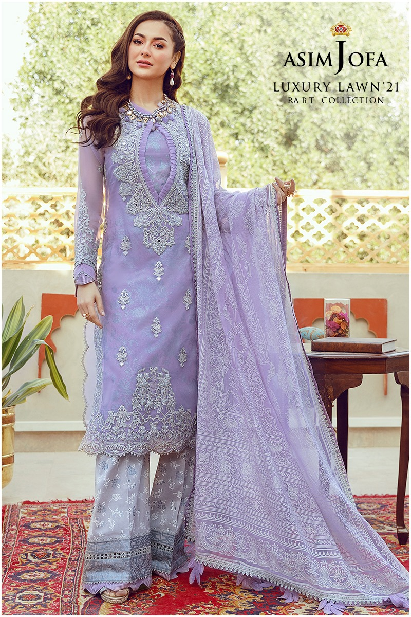 Lawn'21 Collection By Asim Jofa